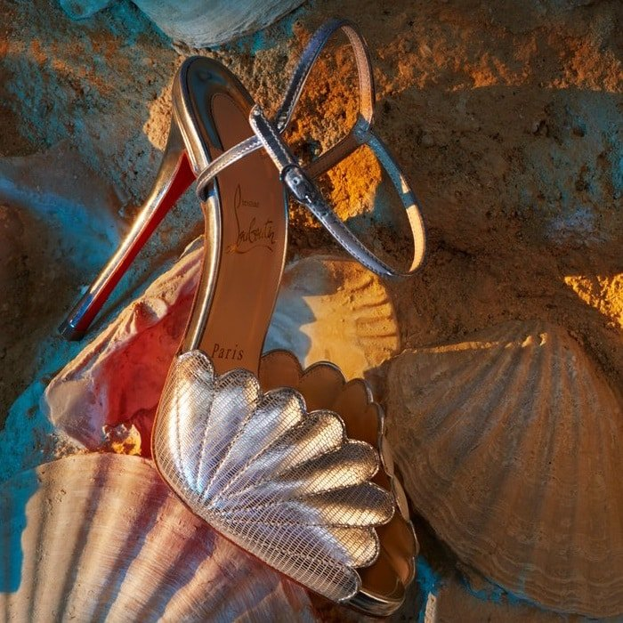 Botticella Alta Platform Sandals in Gold