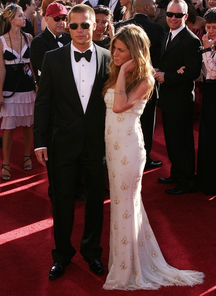 Brad Pitt and Jennifer Aniston married in 2000 and announced their split in early 2005