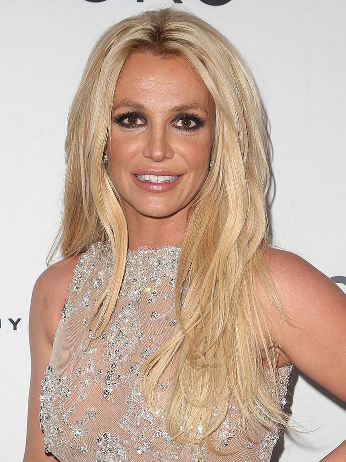 Britney Spears at the2018 Hollywood Beauty Awards hosted at Avalon Hollywood in Los Angeles, California, on February 25, 2018.