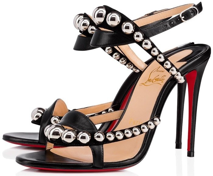 Christian Louboutin 'Galeria' Leather Sandals