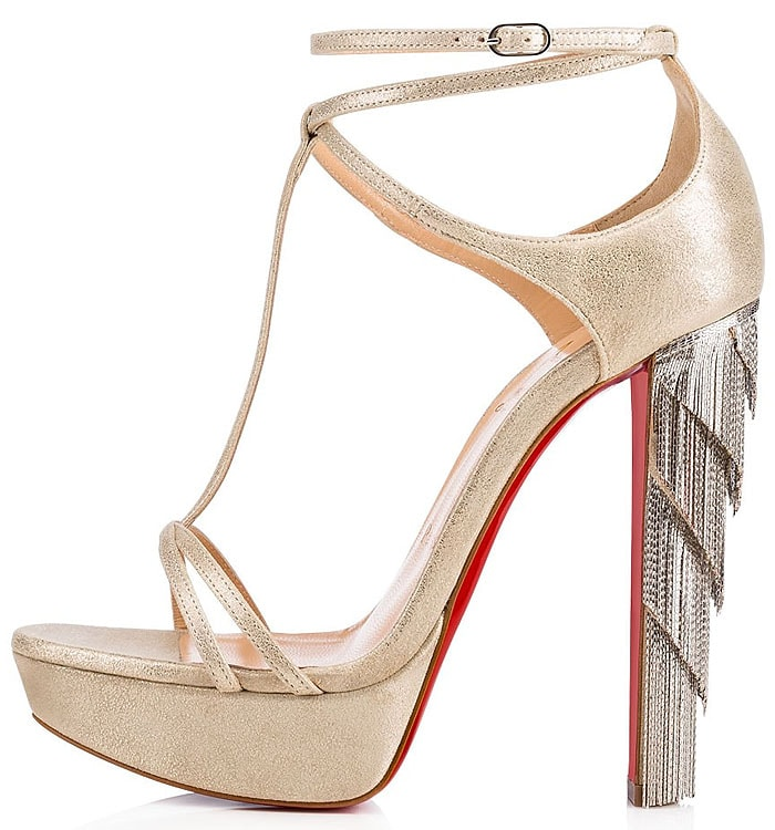 Christian Louboutin 'Golden Blake' platform sandals