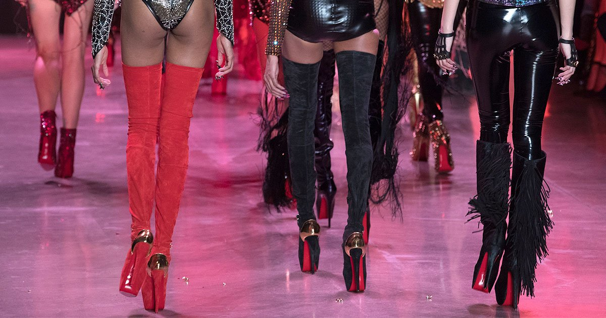 965ebde587a1 10 Over-the-Top Louboutin Shoes at The Blonds Fall 2018 Fashion Show