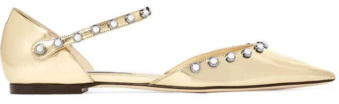 These comfortable flats are perfect for dancing long into the evening