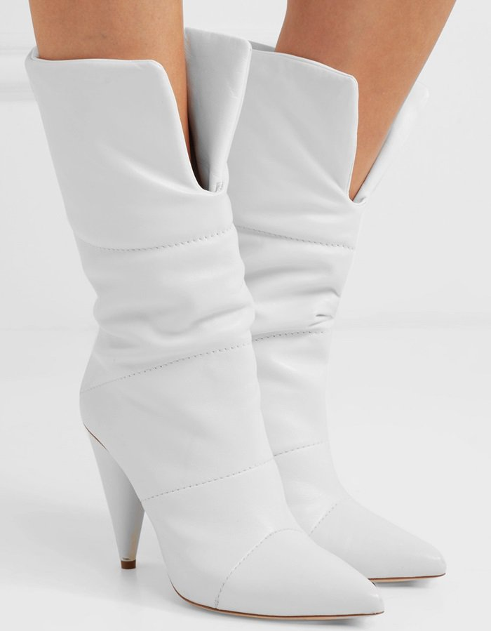 Jimmy Choo + Off-White 'Sara' quilted leather boots