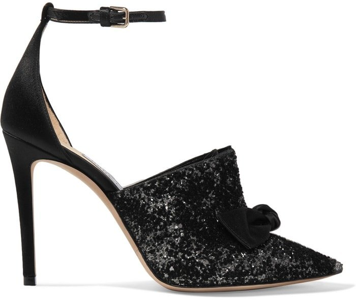 If you're looking for just a touch of sparkle, then these Cinderella mules are the way to go