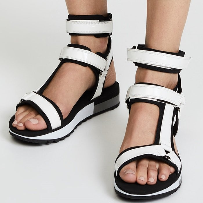 b3d85046bda Hide Your Big Toe With Jeffrey Campbell s Bandage Sandals