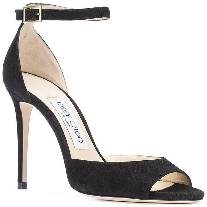 Jimmy Choo 'Annie' Ankle-Strap Sandals