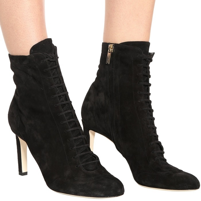 Jimmy Choo 'Daize' 85 suede ankle boots