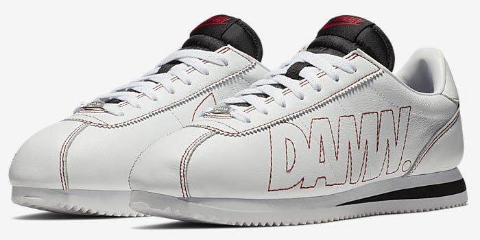 Kendrick Lamar x Nike 'Cortez Kenny I' sneakers.