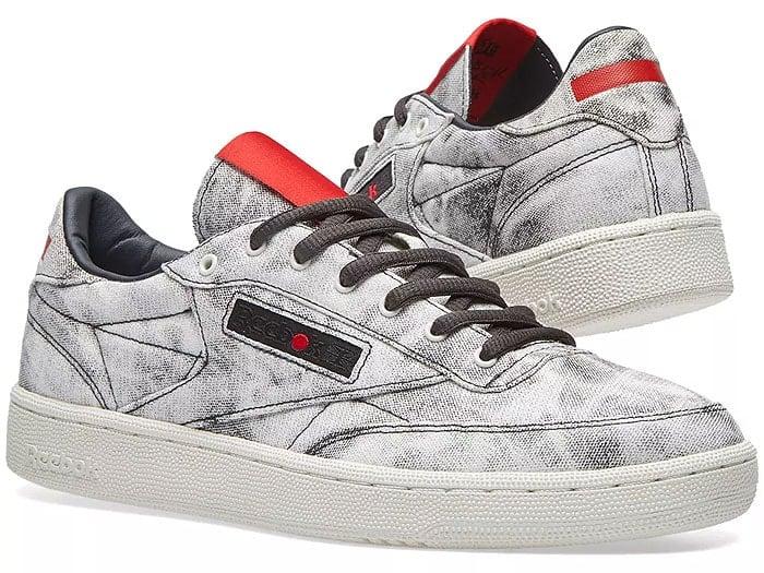 Kendrick Lamar x Reebok 'Club C' sneakers.