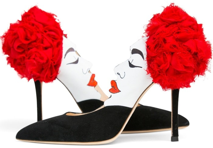 Lena Erziak 'Eva Flower' Pumps