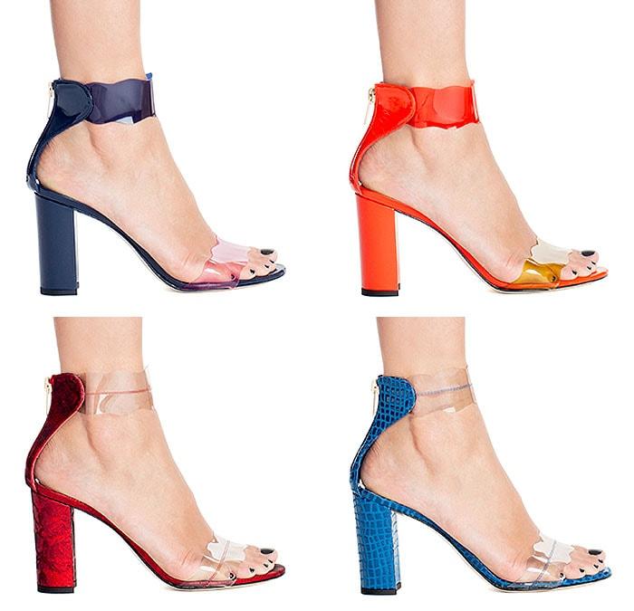 Variations of the Marskinryyppy 'Piwi' sandals.
