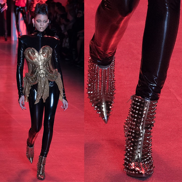 10 Over The Top Louboutin Shoes At The Blonds Fall 2018