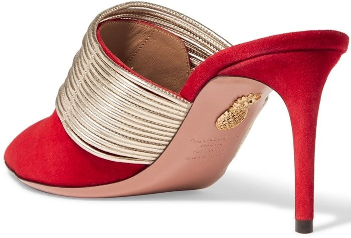 """They come in a designer-stamped box that's printed with the motto, """"If the shoe fits, buy them in every color"""""""