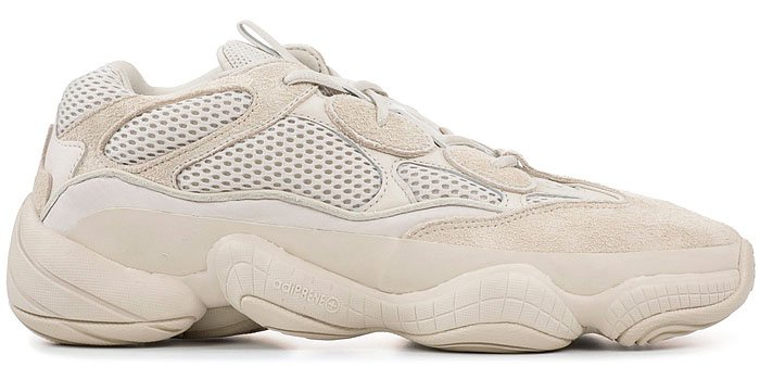 "Yeezy ""Desert Rat 500"" Sneakers in Blush"