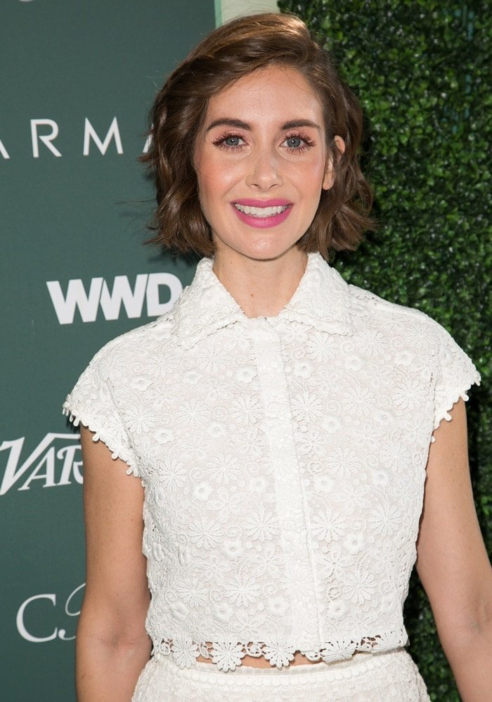 Alison Brie at the Runway to Red Carpet hosted by CFDA, Variety, and WWD