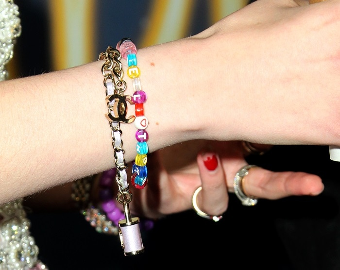 Bella Thorne's bracelets and jewelry