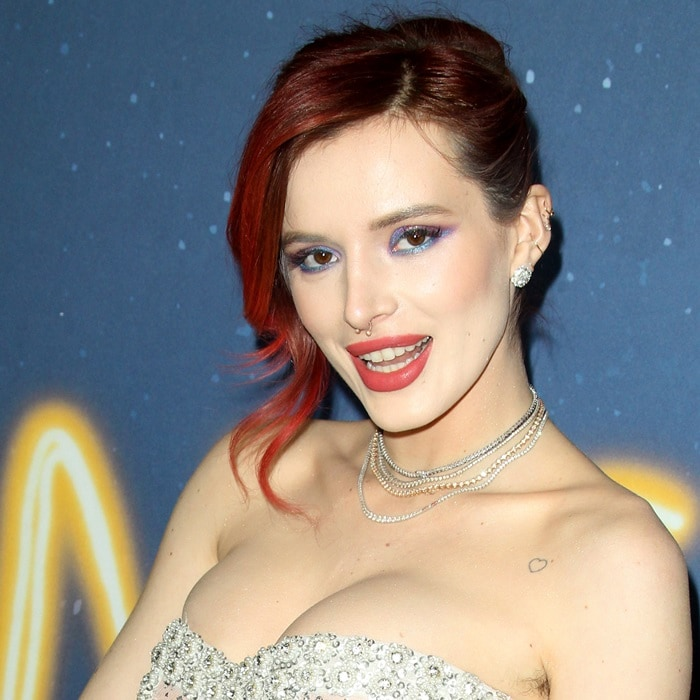 Bella Thorne's Norman Silverman diamonds