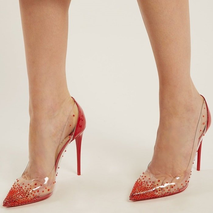 e96aeed5db2 Degrastrass PVC Pumps by Christian Louboutin  Why Celebrities Love Them