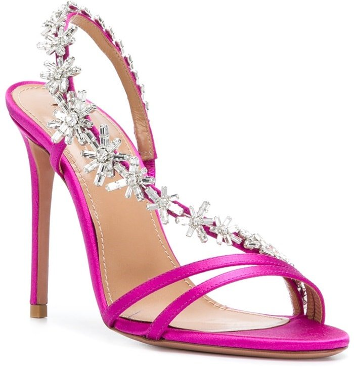 Claim the night in the extraordinary Chateau Sandals, which are jewelry for your feet