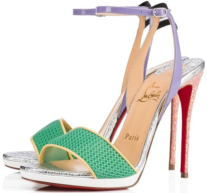 Opal Sports-Inspired Mesh Toe Strap 'Discoport' Sandals