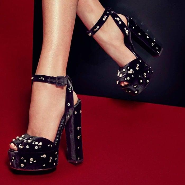70368fde129 Betty Platform Sandals by Giuseppe Zanotti  Celebrities Love Them