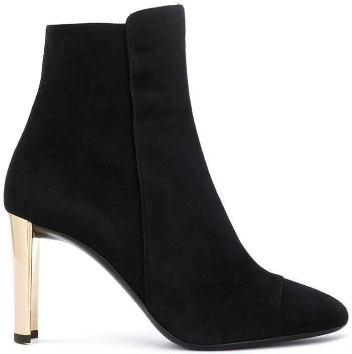 Black Suede Giuseppe Zanotti 'Jessica' Boots