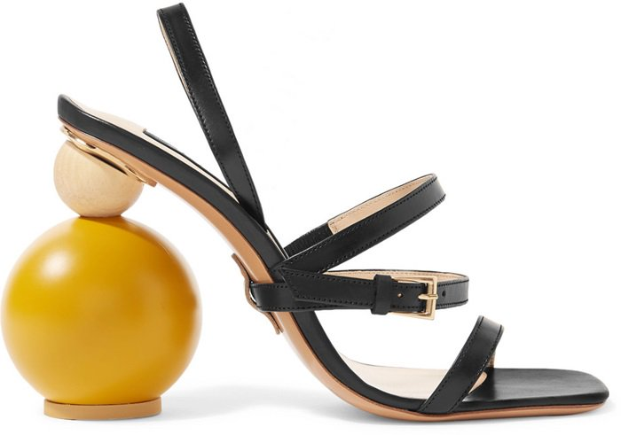 These sandals are from the French designer's Spring '18 'La Bomba' collection