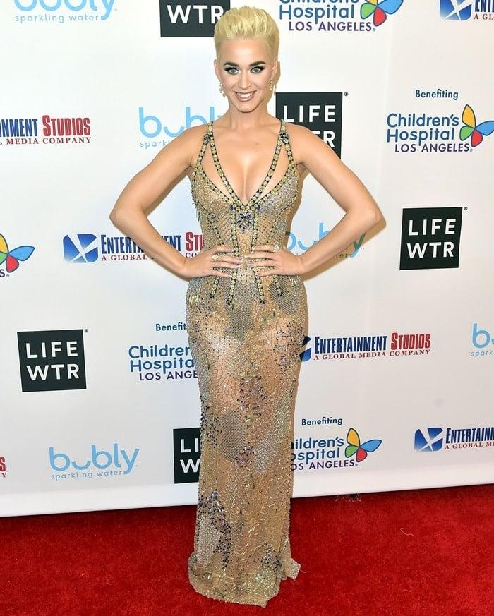 Katy Perryat Byron Allen's Oscar Gala Viewing Party
