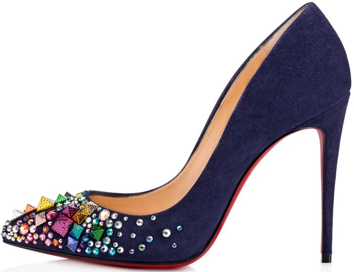 China Blue Christian Louboutin Keopump Pumps