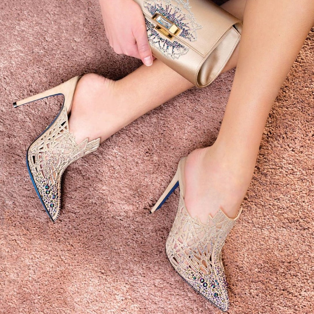 Loriblu glittering heels