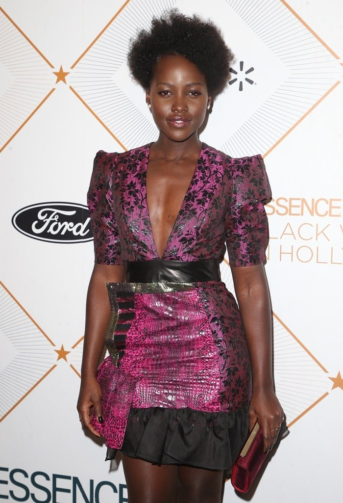 Lupita Nyong'o showed up without her boyfriend at the Essence 11th Annual Black Women In Hollywood Awards Gala