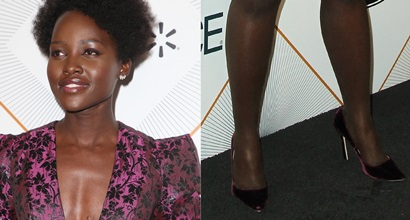 72b4d8656c5 Lupita Nyong o Without Boyfriend at Essence Black Women in Hollywood Oscars  Luncheon