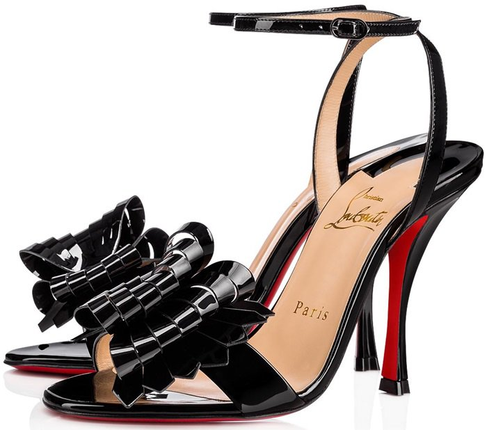 """Miss Valois"" is a flawlessly chic look that brings new depth to Christian Louboutin's bow obsession"