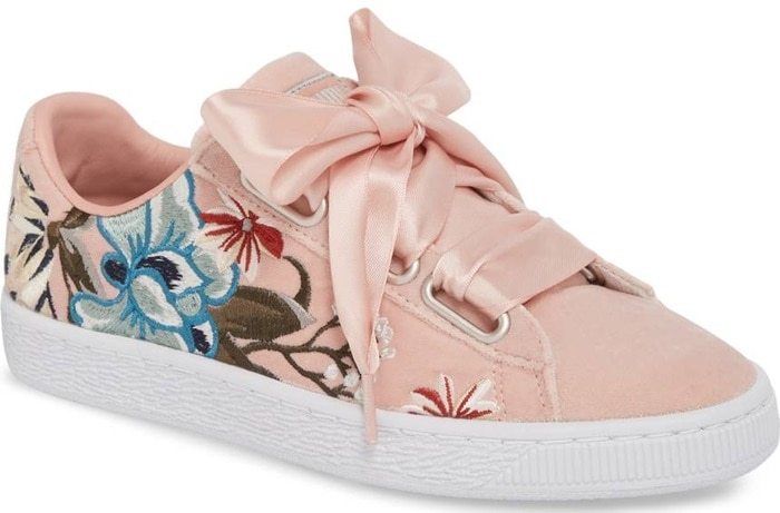 PUMA 'Basket Heart' Sneakers