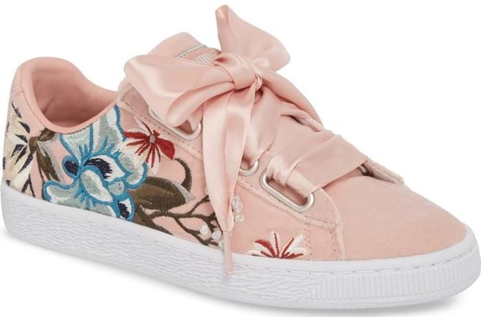 PUMA 'Basket Heart' Sneakers