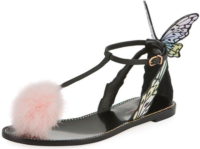 Sophia Webster 'Talulah' Butterfly Wing Flat Sandals