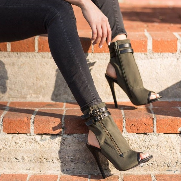 Stretch-Material 'Valentina' Booties