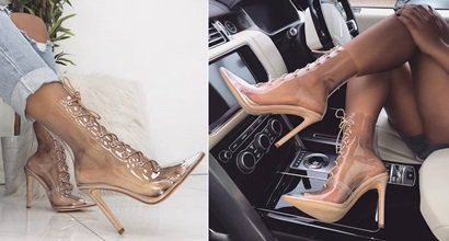 e05ddb8779b Transparent and Semi-Transparent Shoes for Women