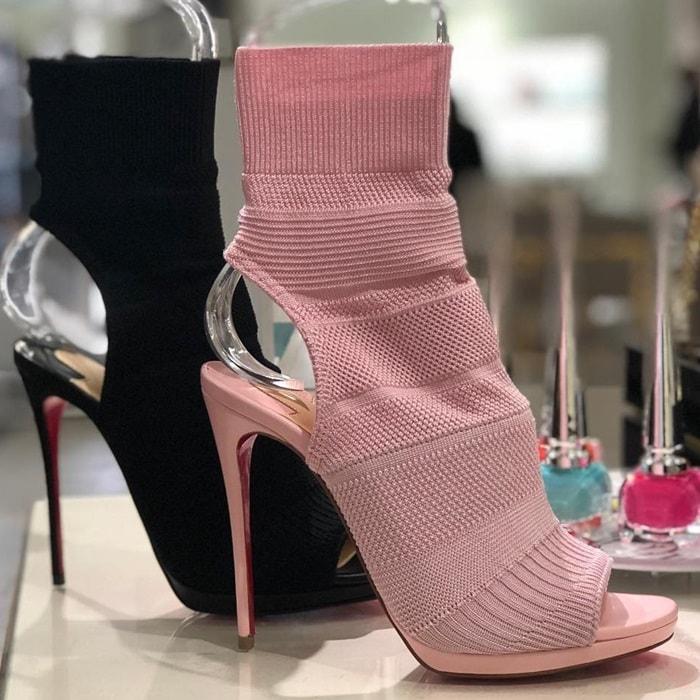 We predict Christian Louboutin's new 'Cheminene' sock boots will be the season's next big hit