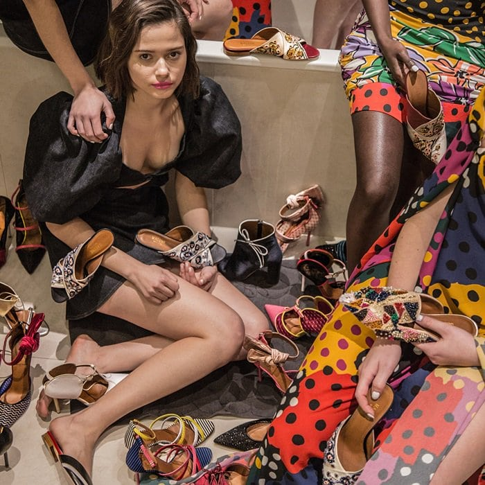 Malone Souliers X Emanuel Ungaro Capsule Collection