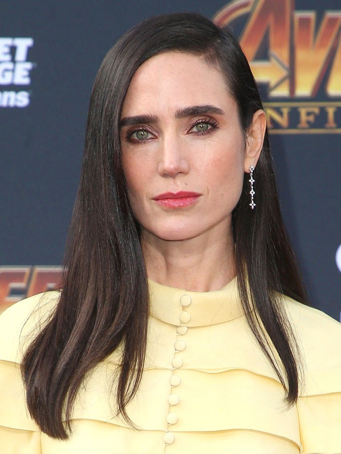 "Jennifer Connelly at the ""Avengers: Infinity War"" premiere."