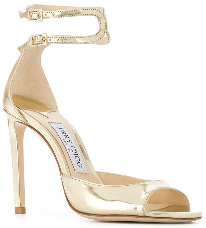 Jimmy Choo 'Lane' Double-Ankle-Strap Sandals