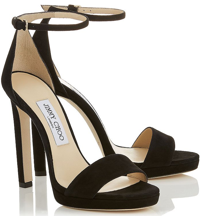 Jimmy Choo 'Misty' Ankle-Strap Sandals