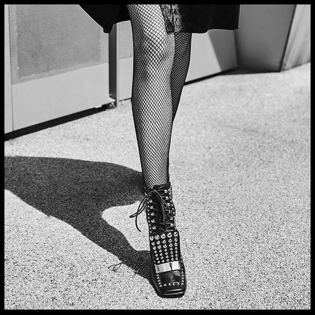 Sergio Rossi 'SR1' Studded Ankle Boots