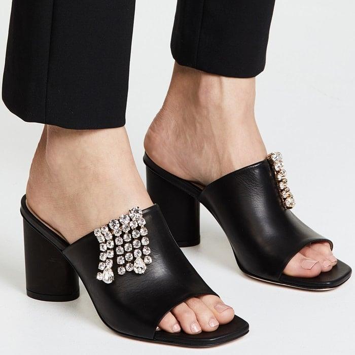 Swarovski Crystal'The One' Sandals