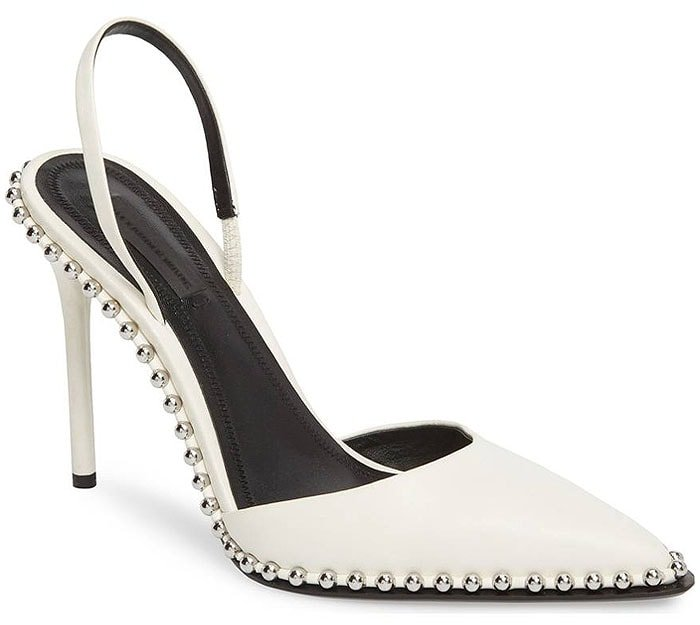 Alexander Wang 'Rina' Beaded Slingback Pumps