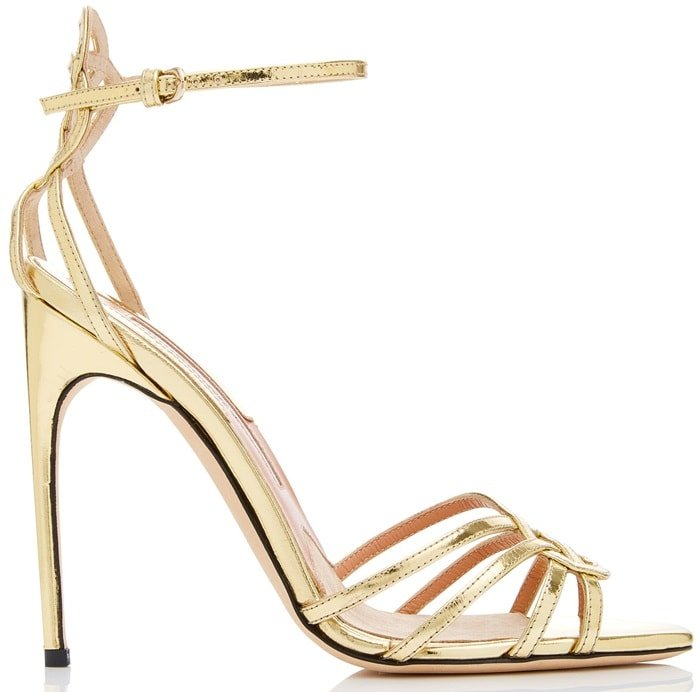 Specchio Leather 'Cassia' Strap Sandals
