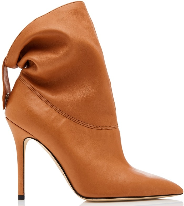 Camel Nappa 'Nightfall' Booties