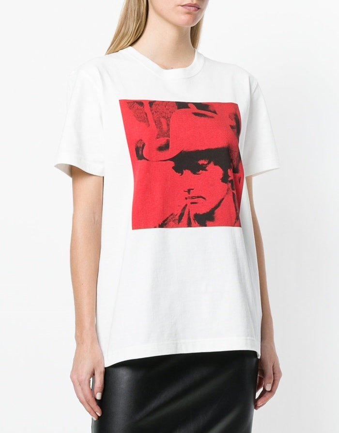 Calvin Klein 205W39NYC x Andy Warhol Foundation Dennis Hopper T-shirt